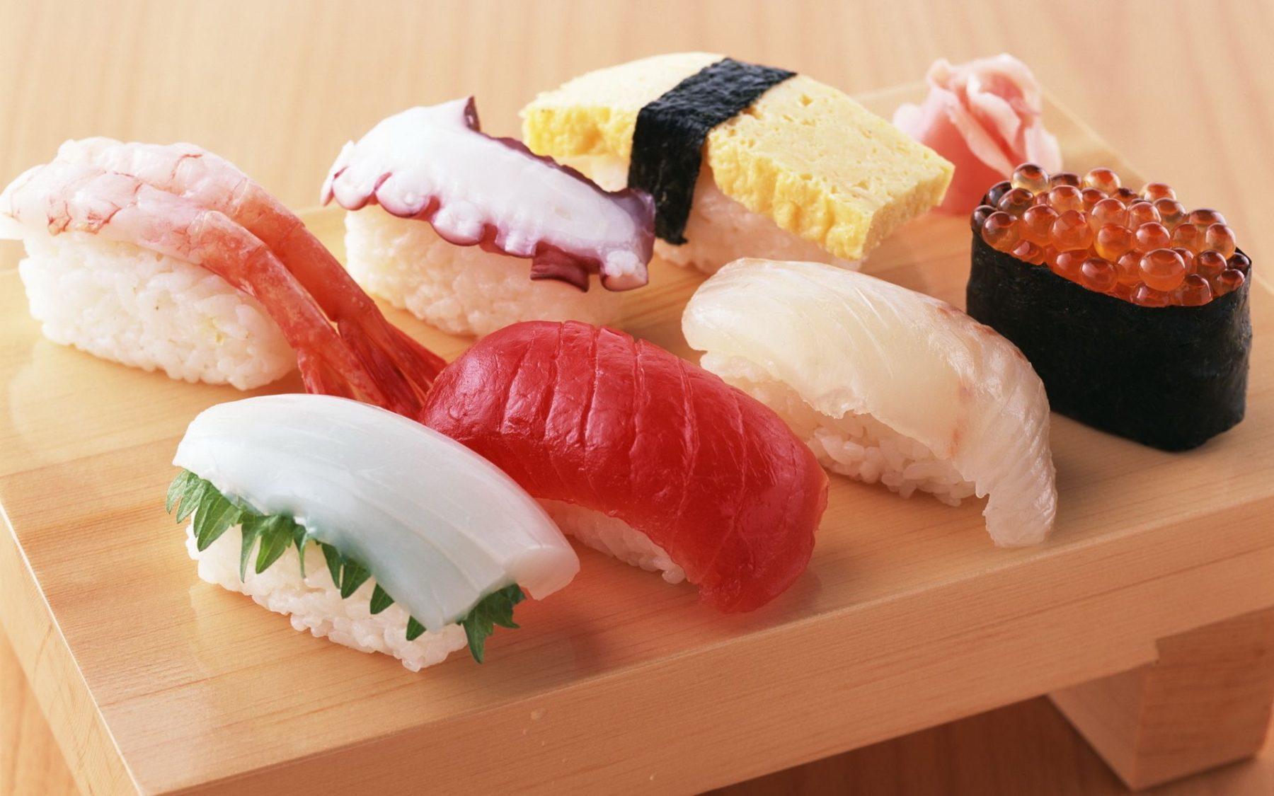 Asiatische Küche - Sushis