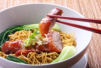 Asiatische Küche - Peking Ente